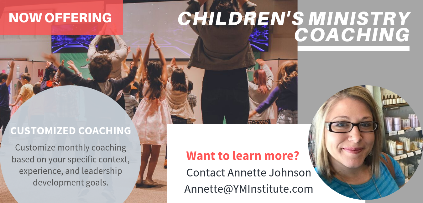 Children's Ministry coaching (2)